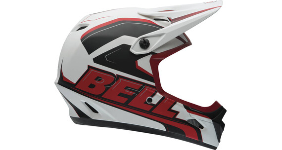 Bell Transfer-9 Kask Fullface czerwony